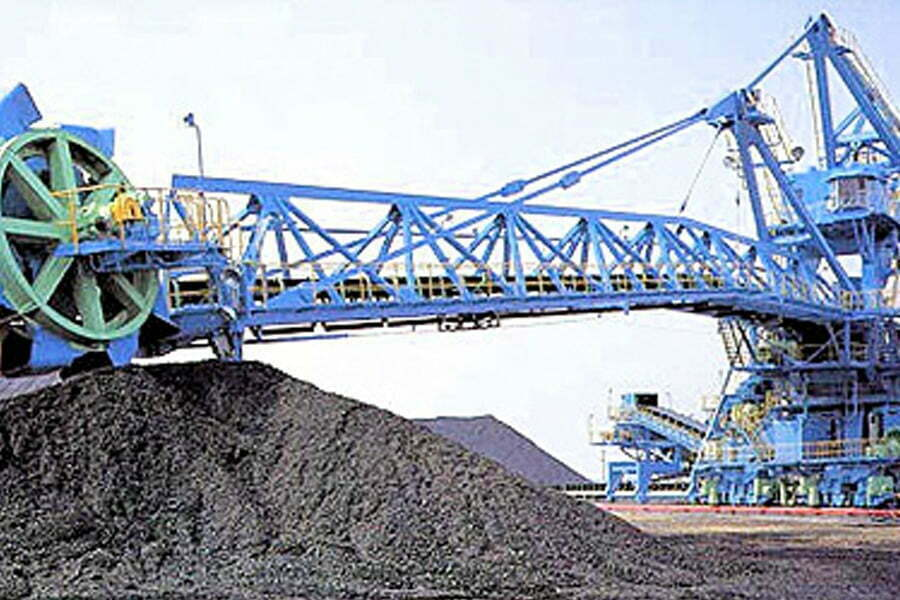 COAL YARD LOADER AND UNLOADER