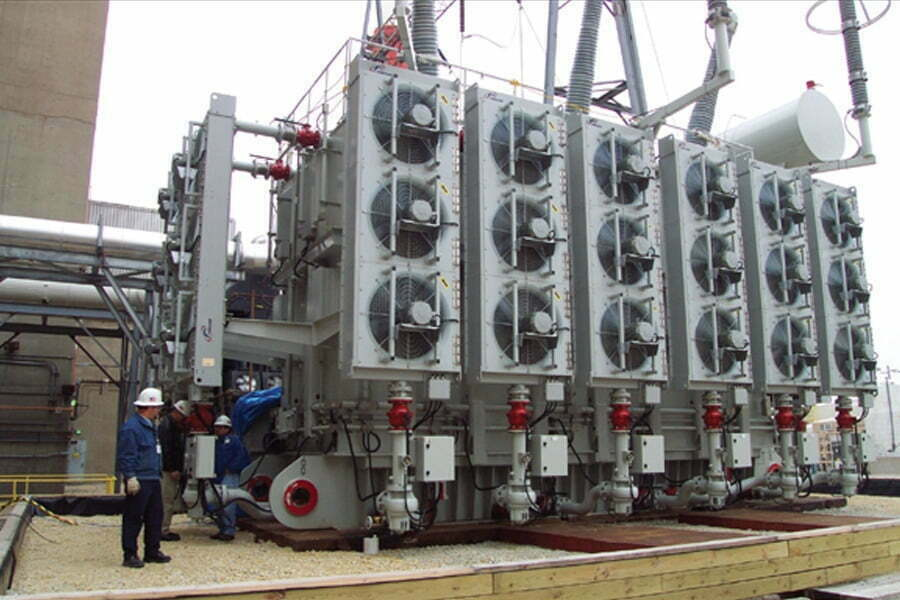 ONLINE TRANSFORMER OIL MONITORING SYSTEM